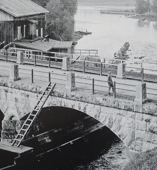 Vilppulankoski hiuoma 1900 alku